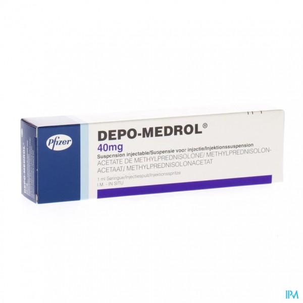 DEPO-MEDROL SER INJ 1 X 40 MG/1 ML