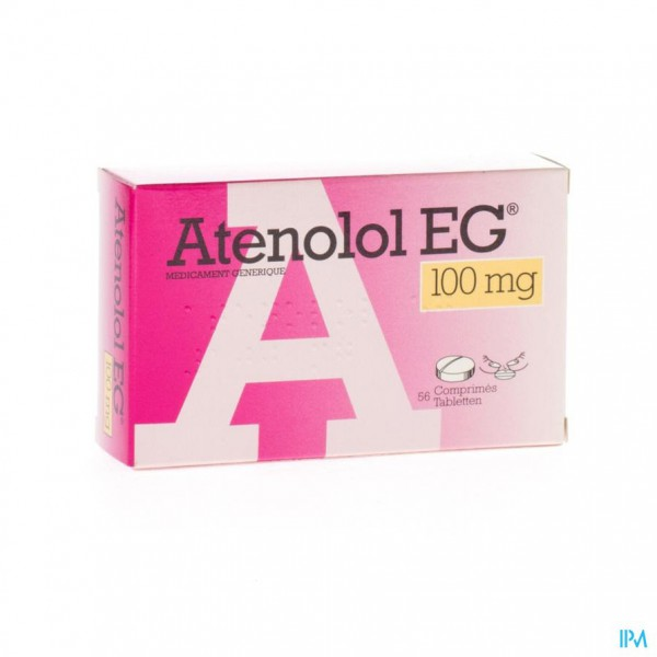 ATENOLOL EG COMP 56X100MG
