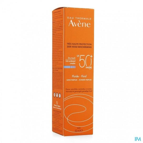 AVENE ZON IP50+ FLUIDE S/PARFUM 50ML