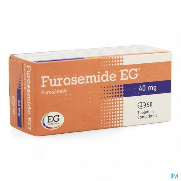 FUROSEMIDE EG COMP 50 X 40 MG
