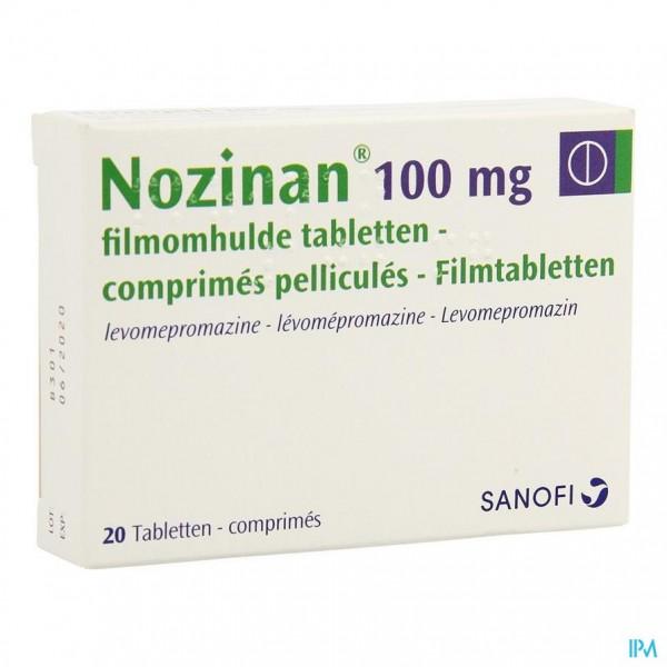 NOZINAN COMP 20 X 100 MG