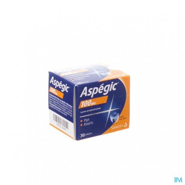 ASPEGIC 100 PULV 30X 100MG