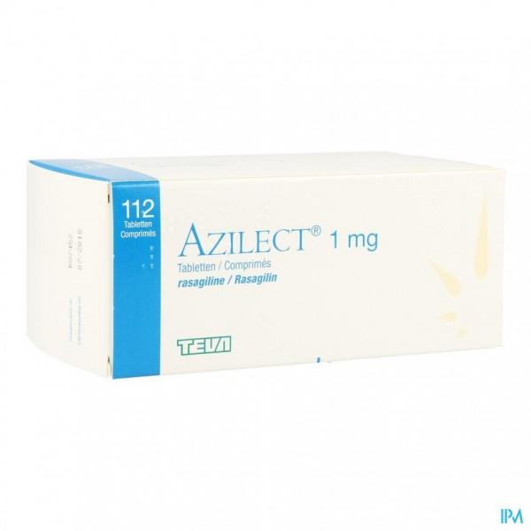 AZILECT 1MG PI PHARMA COMP 112 X 1MG PIP