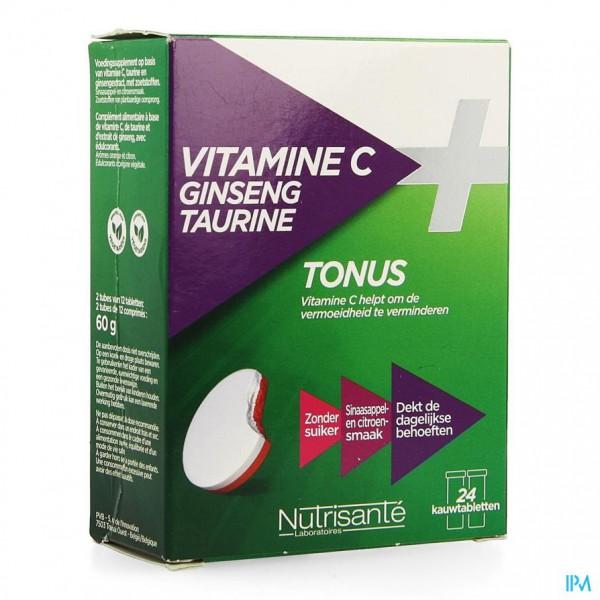 VITAMINE C GINSENG TAURINE COMP 2X12