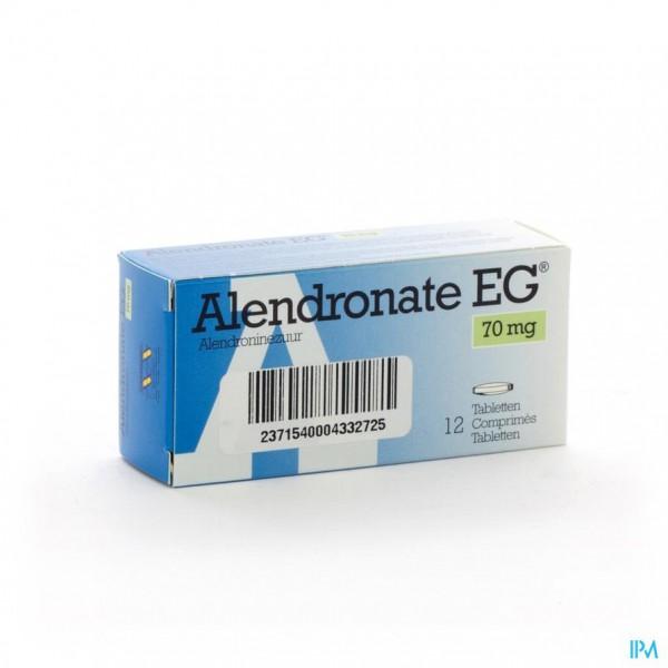 Alendronate Eg 70mg Comp 12 X 70mg