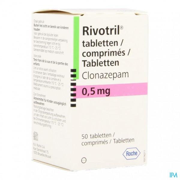RIVOTRIL COMP. 50 X 0,5 MG