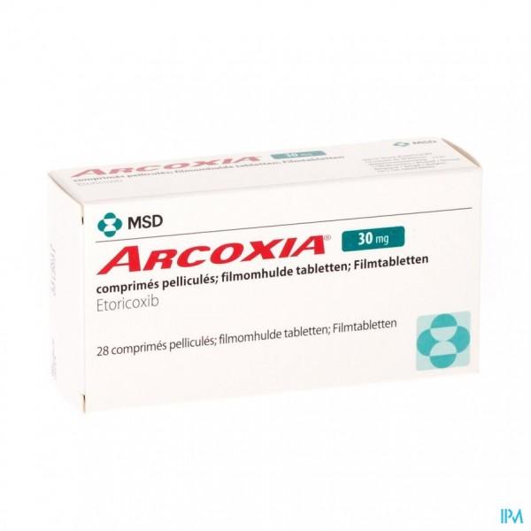 ARCOXIA 30 MG COMP 28