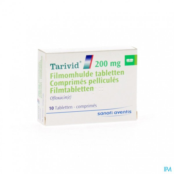 TARIVID COMP 10X200MG