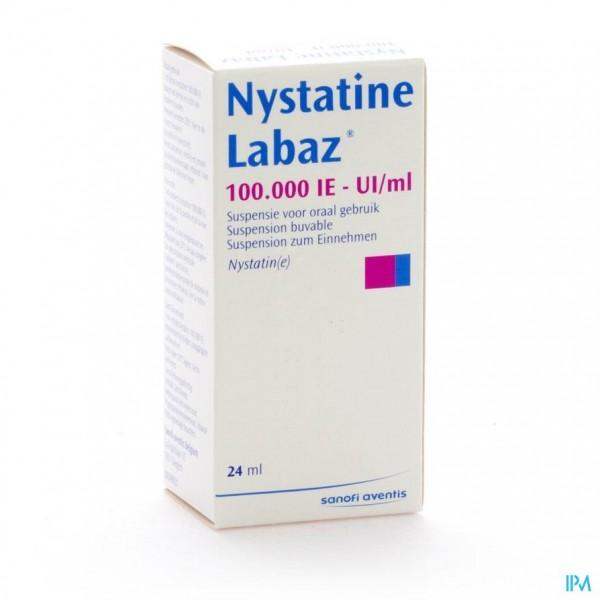 NYSTATINE SUSP OR 1X24ML 100000U/ML