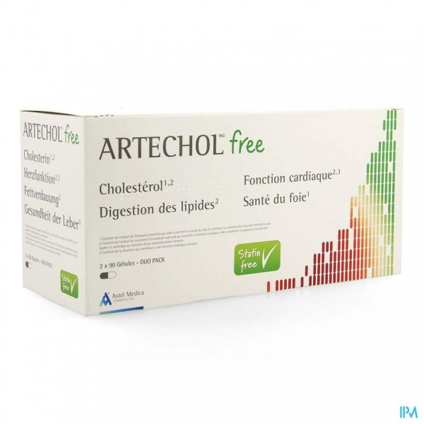 ARTECHOL FREE CAPS 180