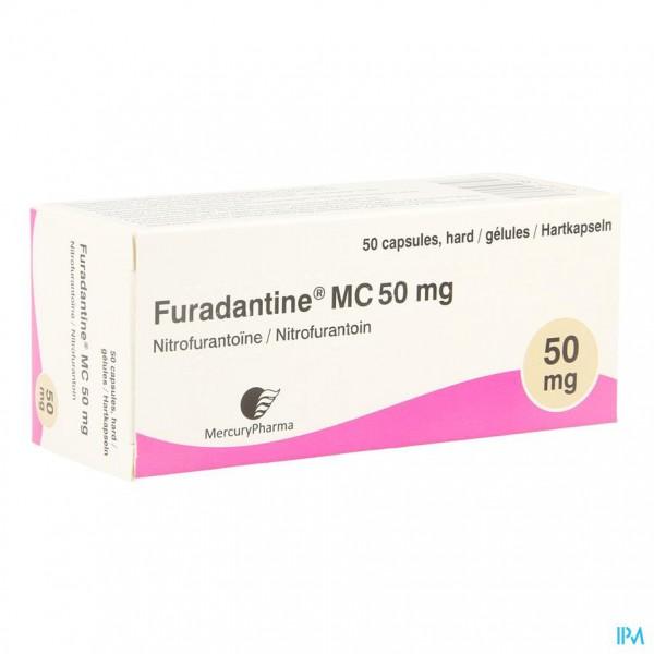 FURADANTINE MC CAPS 50 X 50 MG