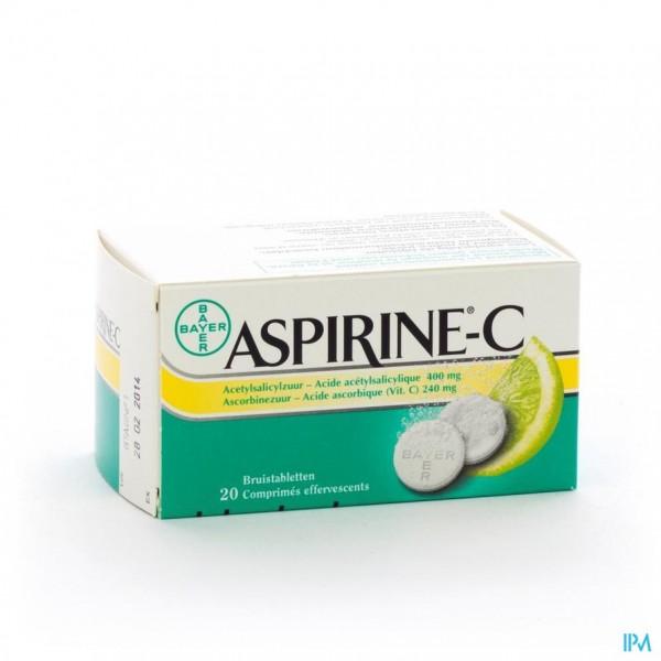 ASPIRINE C EFF. COMP. 20