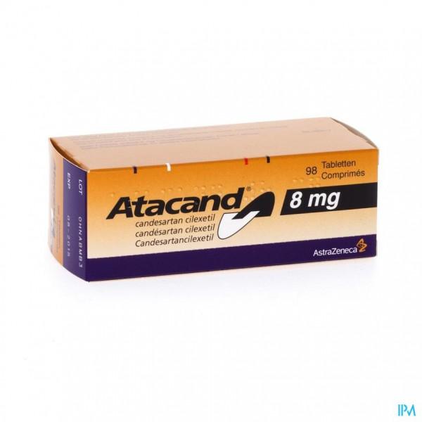 ATACAND COMP 98 X 8 MG