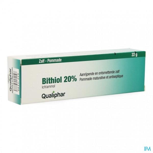 BITHIOL 20% UNG. 22 G QUALIPHAR