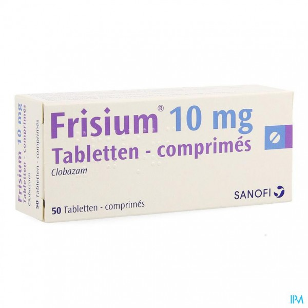 FRISIUM COMP. 50 X 10 MG