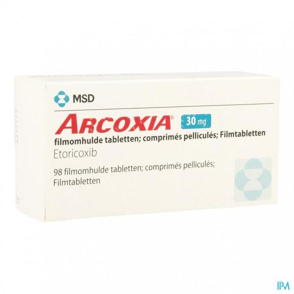 ARCOXIA 30 MG COMP 98
