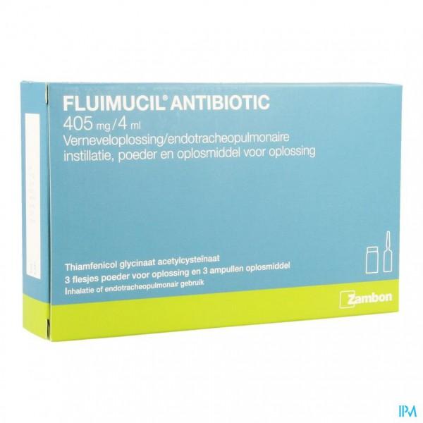 FLUIMUCIL ANTIBIOTIC FL3+AMP 3TOPIC