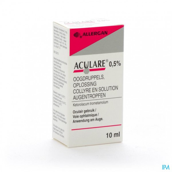 ACULARE COLLYRE 10 ML