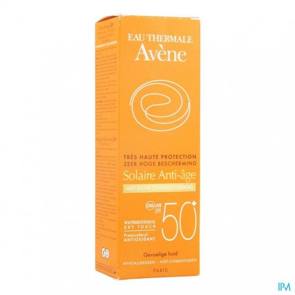 AVENE ZONNECREME IP50+ A/AGE 50ML