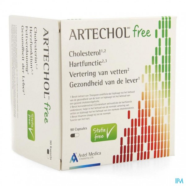 ARTECHOL FREE CAPS 90
