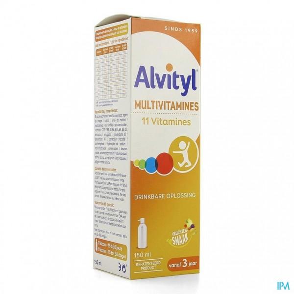 ALVITYL MULTIVITAMINEN DRINKB.OPL FL 150ML
