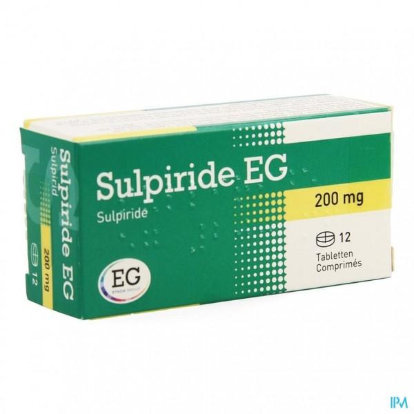 SULPIRIDE EG COMP 12 X 200 MG