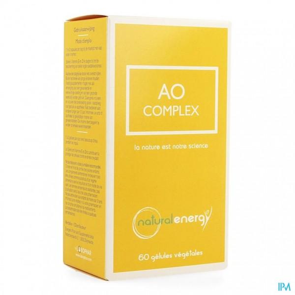 AO COMPLEX NATURAL ENERGY CAPS 60