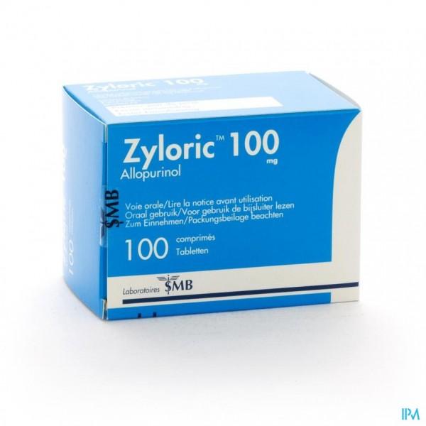 ZYLORIC 100 COMP 100 X 100 MG