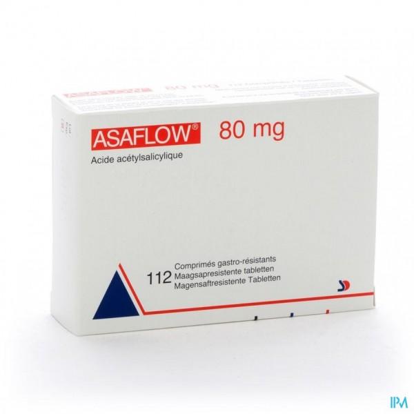 Asaflow 80mg Maagsapres Comp Bli 112x 80mg