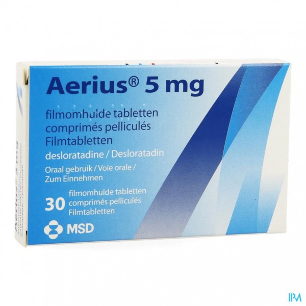 AERIUS COMP 30 X 5 MG
