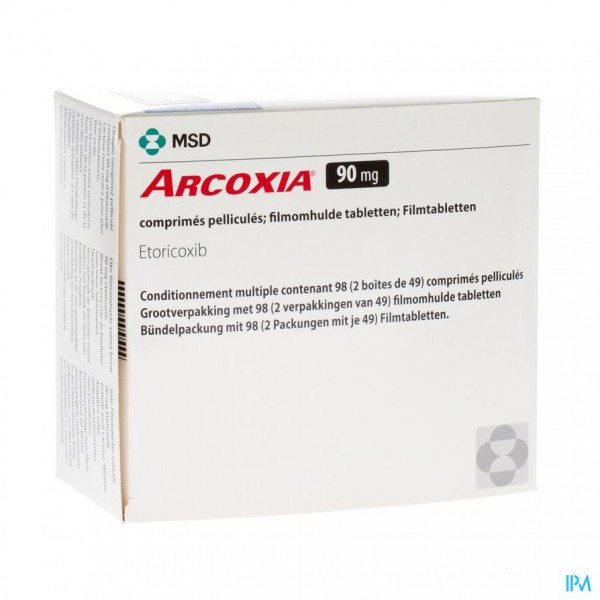 ARCOXIA 90 MG COMP 98