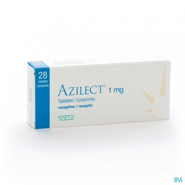 AZILECT 1MG TABL 28 X 1MG